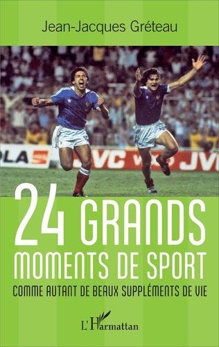 Couverture 24 grands moments de sport