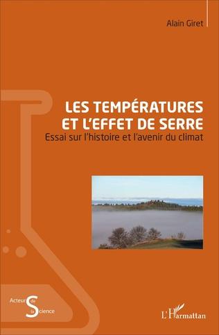 Couverture Les températures et l'effet de serre