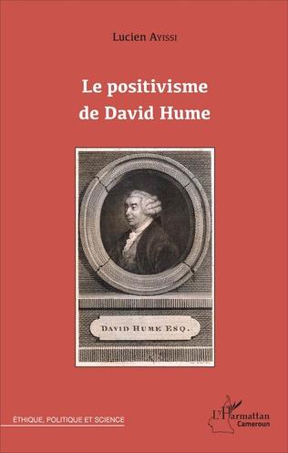 Couverture Le POSITIVISME DE DAVID HUME