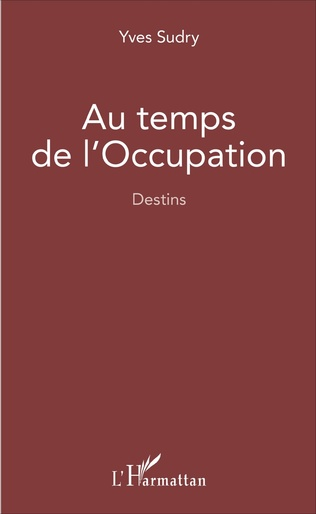 Couverture Au temps de l'occupation