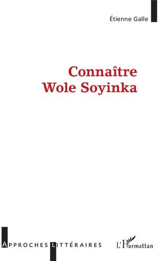 Couverture Connaître Wole Soyinka