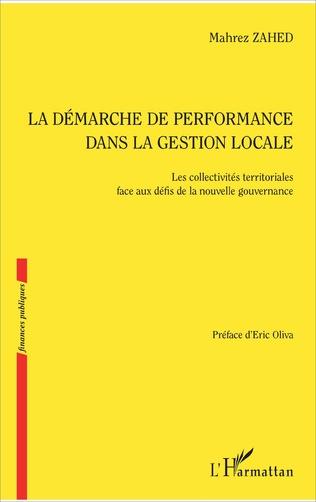 Couverture La démarche de performance dans la gestion locale