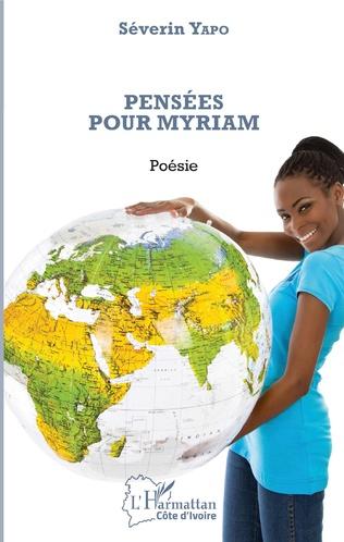Couverture Pensées pour Myriam