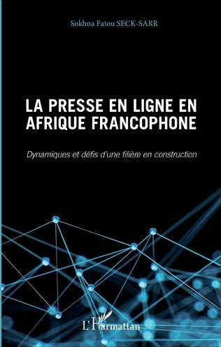 Couverture La Presse en ligne en Afrique francophone