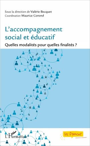 Couverture L'accompagnement social et éducatif