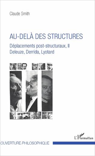 Couverture Au-delà des structures