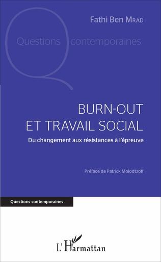 Couverture Burn-out et travail social