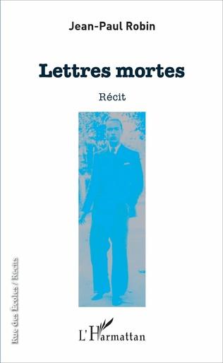 Couverture Lettres mortes