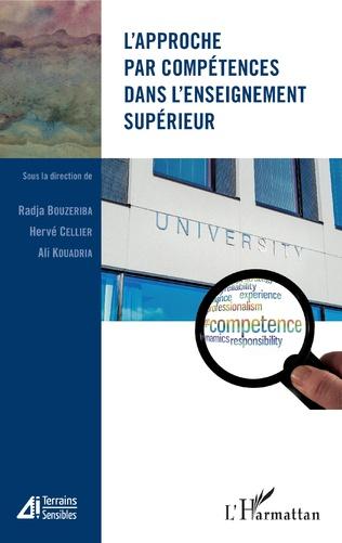 Couverture L'approche par compétences dans l'enseignement supérieur