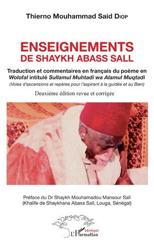 Couverture Enseignements de Shaykh Abass Sall