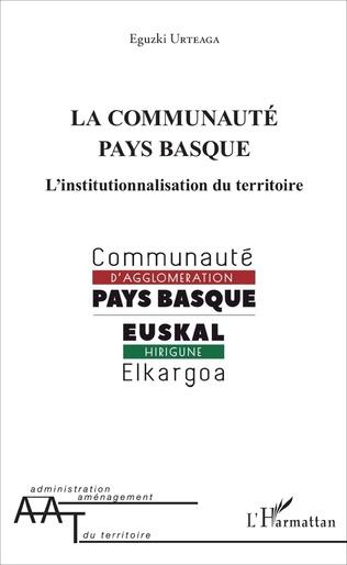 Couverture La communauté pays basque