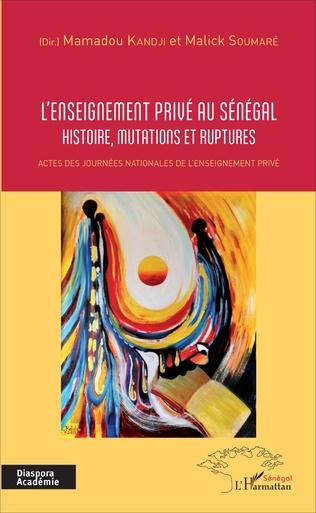 Couverture L'enseignement privé au Sénégal