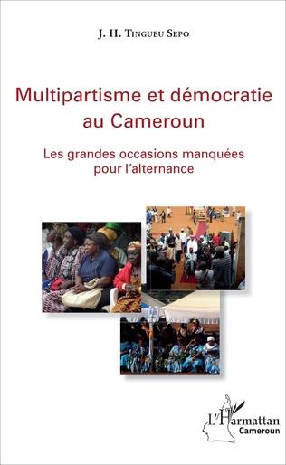Couverture Multipartisme et démocratie au Cameroun
