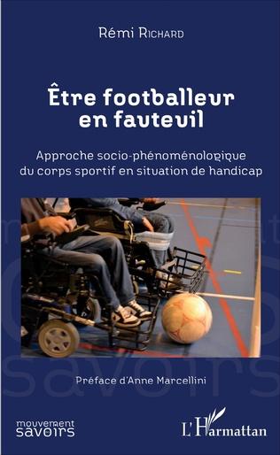 Couverture Etre footballeur en fauteuil