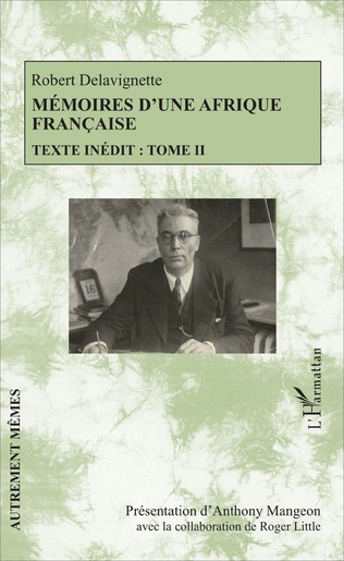 Couverture Mémoires d'une Afrique française