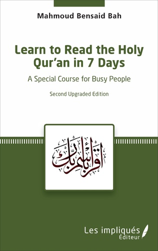 Couverture Learn to Read the Holy Qur'an in 7 Days