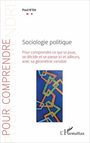 Couverture Sociologie politique