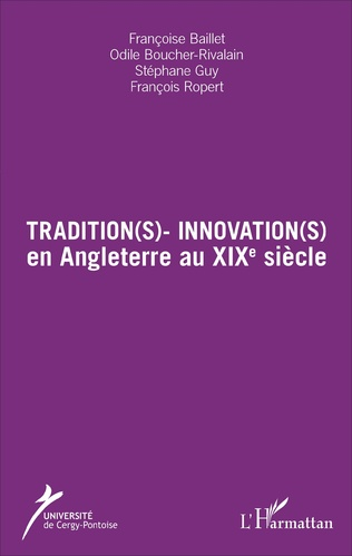 Couverture Tradition(s) - Innovation(s)