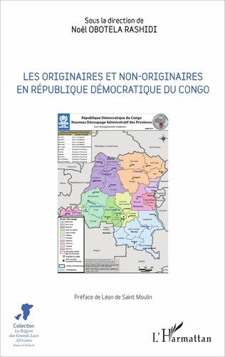 Couverture Les originaires et non-originaires en République démocratique du Congo