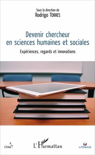 Couverture Devenir chercheur en sciences humaines et sociales