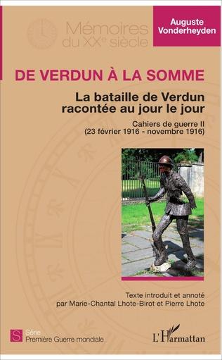 Couverture De Verdun à la Somme