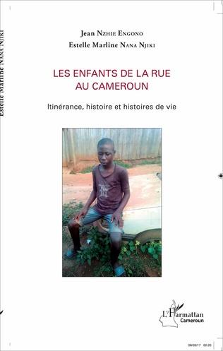 Couverture Les enfants de la rue au Cameroun
