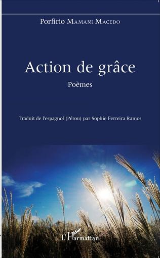 Couverture Action de grâce