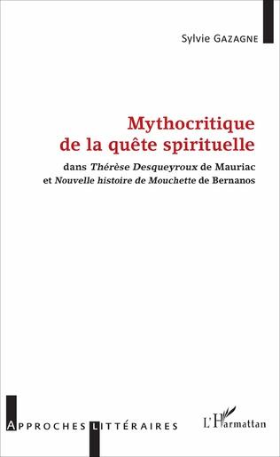 Couverture Mythocritique de la quête spirituelle