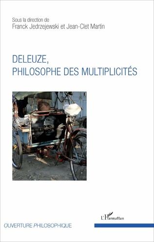 Couverture Deleuze, philosophe des multiplicités