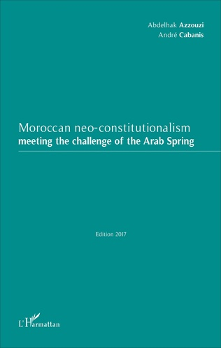 Couverture Moroccan neo-constitutionalism