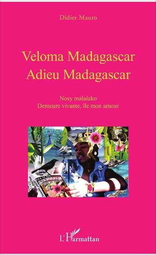 Couverture VELOMA MADAGASCAR ADIEU MADAGASCAR