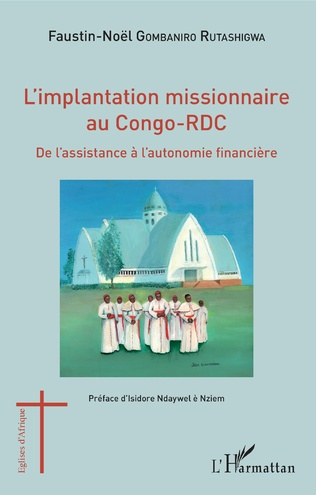 Couverture L'implantation missionnaire au Congo-RDC