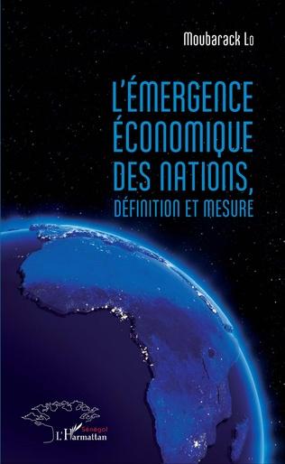 Couverture L'émergence économique des nations