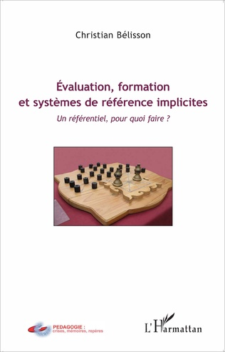 Couverture Évaluation, formation et systèmes de référence implicites