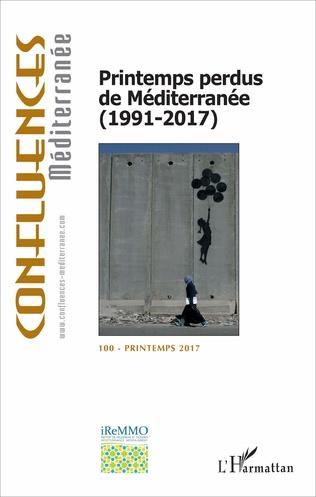 Couverture Printemps perdus de Méditerranée (1991-2017)