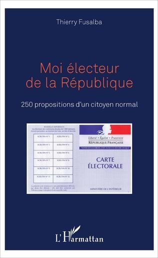 Couverture Moi électeur de la République