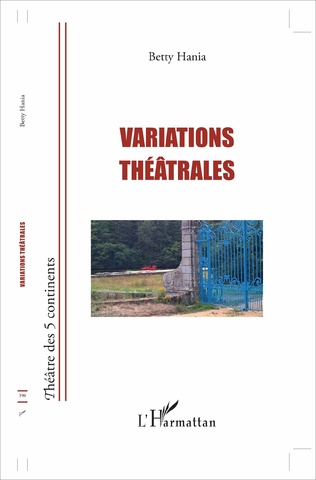Couverture Variations théâtrales
