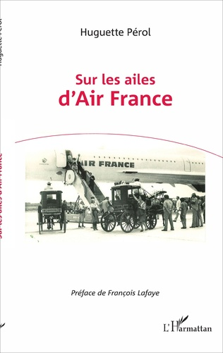 Couverture Sur les ailes d'Air France