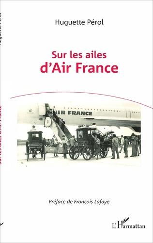 Couverture Sur les ailes d'Air France