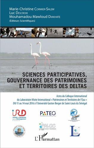Couverture Sciences participatives, gouvernance des patrimoines et territoires des deltas