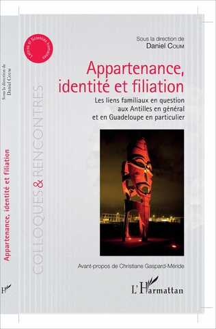 Couverture Appartenance, identité et filiation