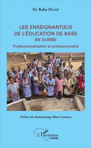 Couverture Les enseignant(e)s de l'éducation de base en Guinée
