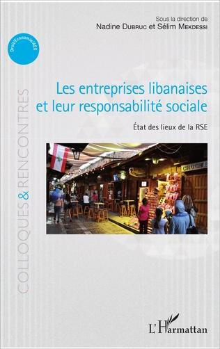 Couverture Les entreprises libanaises et leur responsabilité sociale