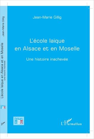Couverture L'école laïque en Alsace et en Moselle