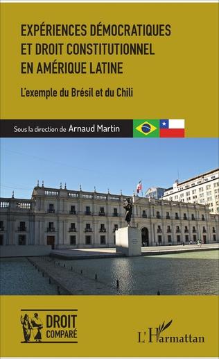 Couverture Expériences démocratiques et droit constitutionnel en Amérique latine