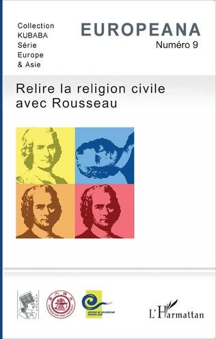 Couverture Relire la religion civile avec Rousseau