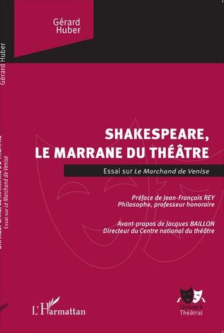 Couverture Shakespeare, le marrane du théâtre