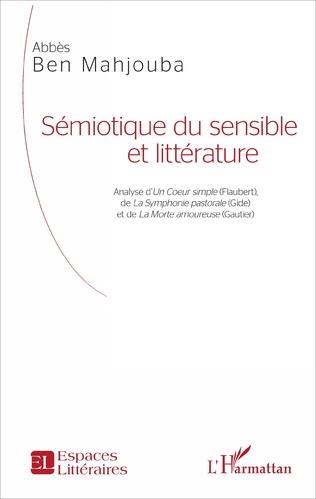 Couverture Sémiotique du sensible et littérature