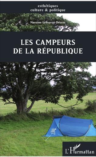 Couverture Les campeurs de la République