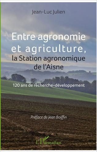 Couverture Entre agronomie et agriculture